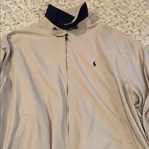 Polo Ralph Lauren full zip lightweight jacket Lg
